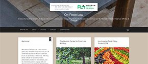 Resnick Center, Harvard Launch Food Law Blog