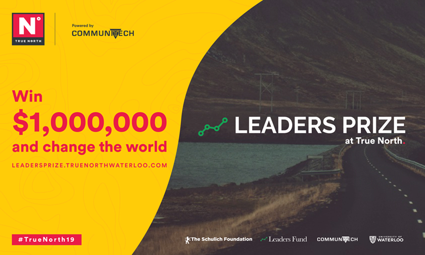 Leaders Prize at True North to offer $1 million for AI solution