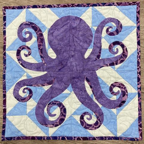 Octopus pattern, Quilter's Trek