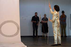 Art Gallery Installation with Eugenia Lim