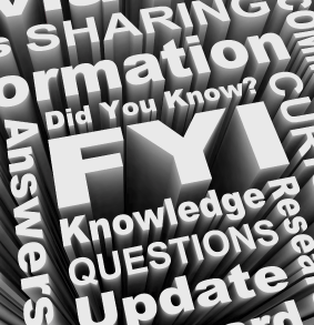 Image of words about information sharing