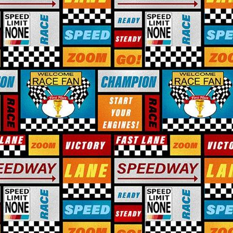 Start your Engines at Cary Quilting Company