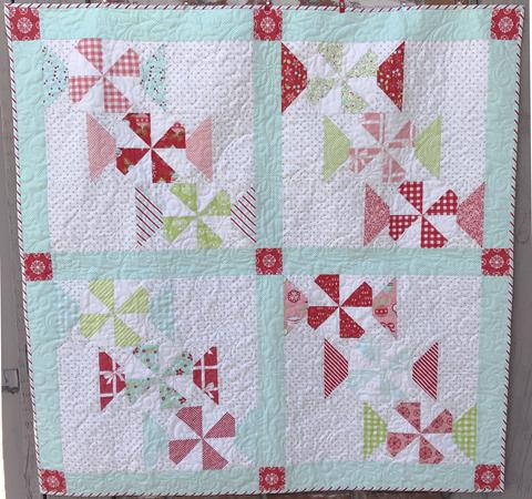 Peppermint Candy Quilt