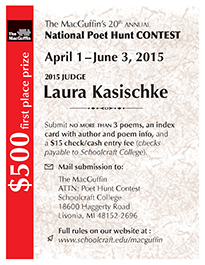 The MacGuffin's 20th Annual National Poet Hunt Contest