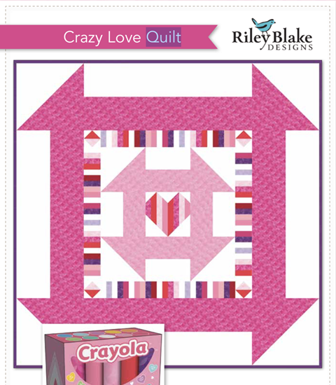 Crazy Love Quilt - free pattern