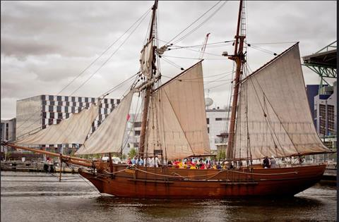 Enterprize tall ship available for school class trips