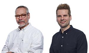 Mød nye medarbejdere i Gaihede, Jesper Jespersen og Benedikte Palvig.