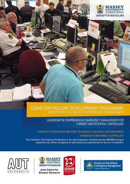 Course brochure cover.