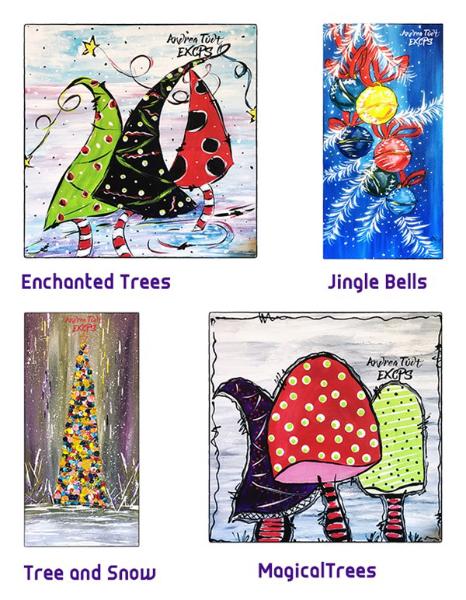 "Workshop ""Choose your Christmas gift"" ideas4art.ca"