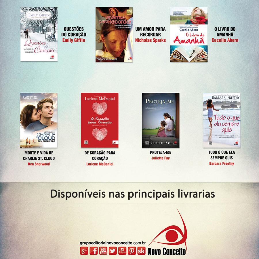 Lista de livros para deixar saudade.