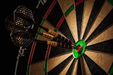 DRG darts tournament at Flight Club