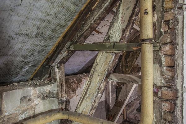 Byggesjusk og hussvamp i Saxogade