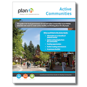 The front cover of the new Active Communities Action Guide