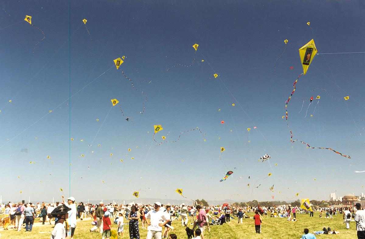 photo of Crissy field after opening