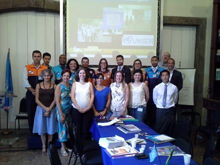 participantes da reunião no Palácio do Itamaraty, Rio de Janeiro