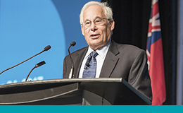Dr. Don Berwick presenting at HQT 2017