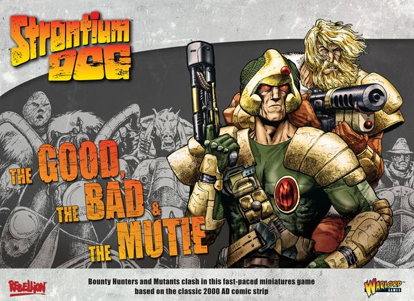Cover of Strontium Dog Skirmish Game from Warlord Games