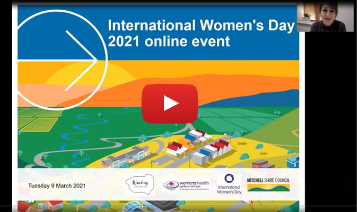 International Women's Day 2021 online event