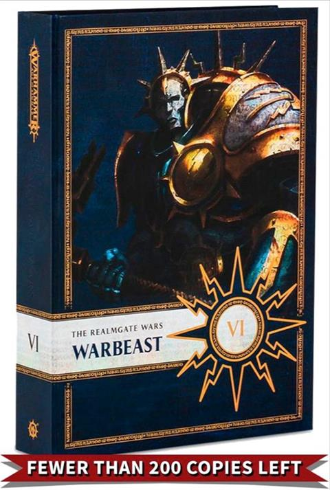 Cover of Warbeast Exclusive Edition by Gav Thorpe