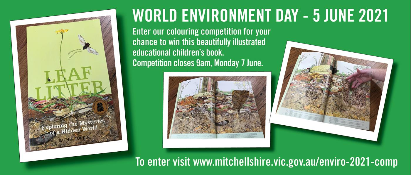 Support World Environment Day 2021. Enter the colouring competition for your chance to win this beautifully illustrated educational children's book.