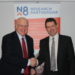 Sir Alan Langlands and Professor Koen Lamberts