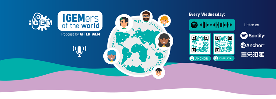 img: iGEMers of the World podcast banner