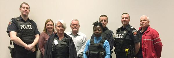 snapshot of Homilton's mobile crisis response team