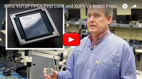 Xilinx VU13P FPGA First Look and XUPVV4 Board Preview