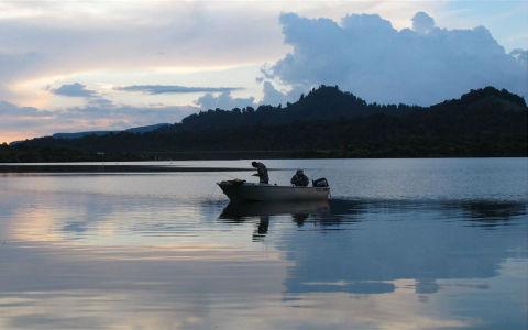 Boat anglers.