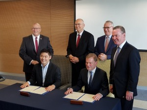 The new centre will strengthen cooperation between Dassault and the University. Credit: Michael Haddy via Twitter