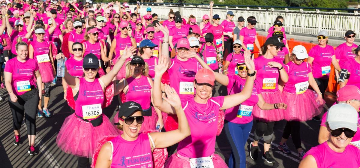RACQ's International Women's Day Fun Run