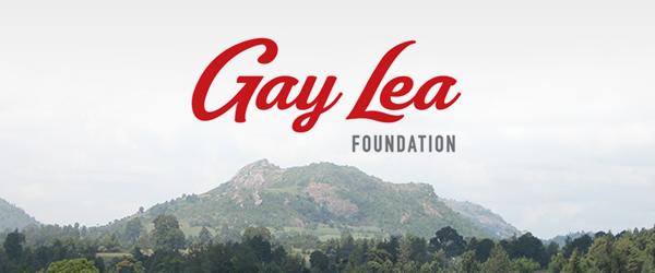 Photo of Gay Lea Foundation logo.