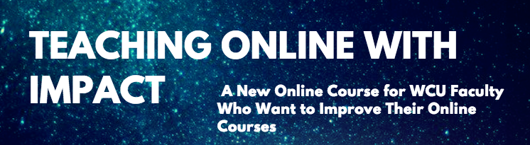 Teaching Online with Impact