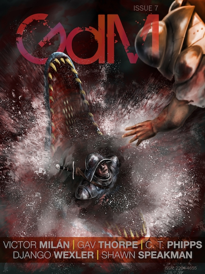 Cover of Grimdark Magazine Issue 7