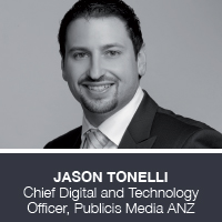 Jason Tonelli, Chief Digital and Technology Officer, Publicis Media ANZ