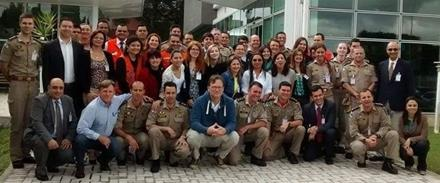 participantes do curso em Curitiba