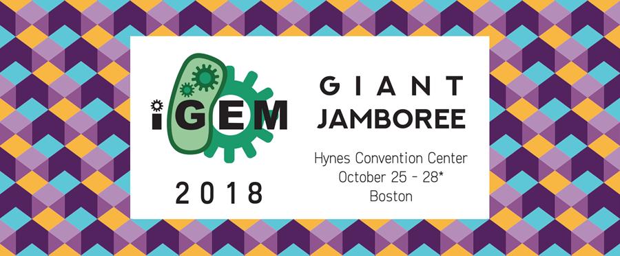 Image: iGEM 2018 Giant Jamboree