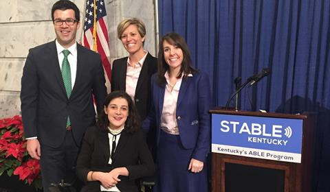 Photo of leaders at the STABLE Kentucky event.