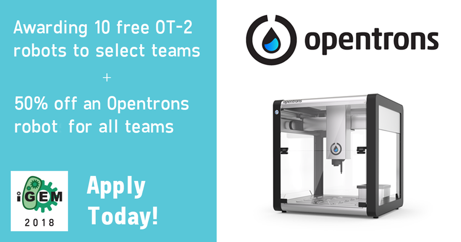 Image: Opentrons at the 2014 Giant Jamboree