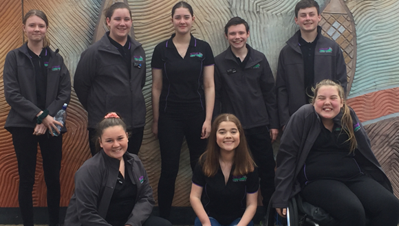 Group of youth councillors