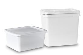 Rechteckeimer Kunststoff - Rixius AG