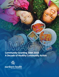 The cover of Northern Health's IMAGINE grants report