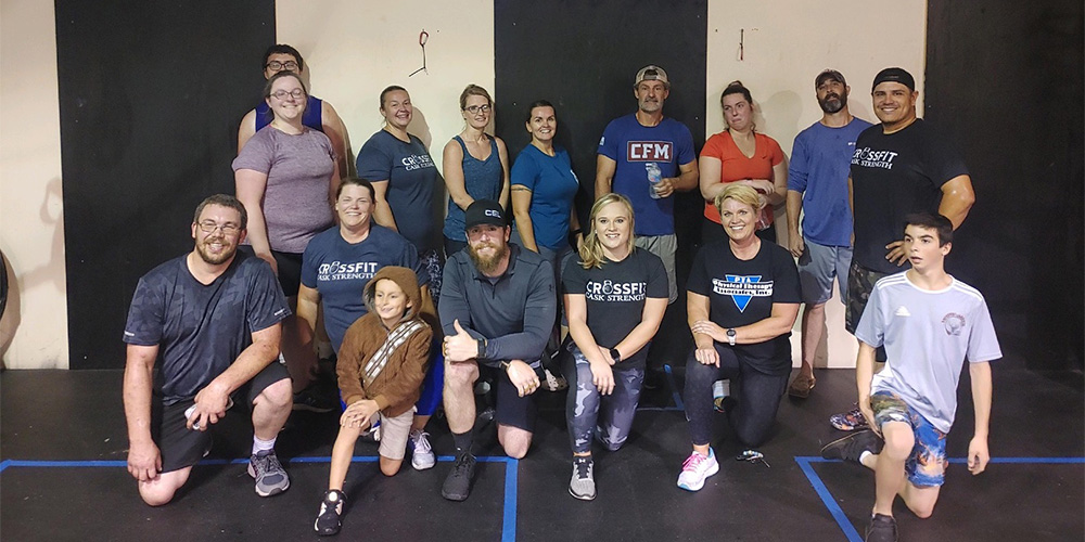 CrossFit Cask Strength Steps Up for Substance Abuse