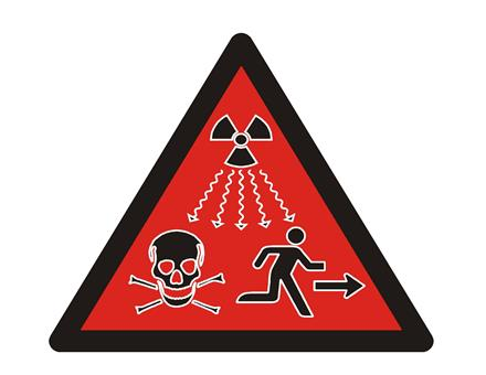 IAEA Radiation Warning Symbol