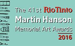 Martin Hanson art awards logo