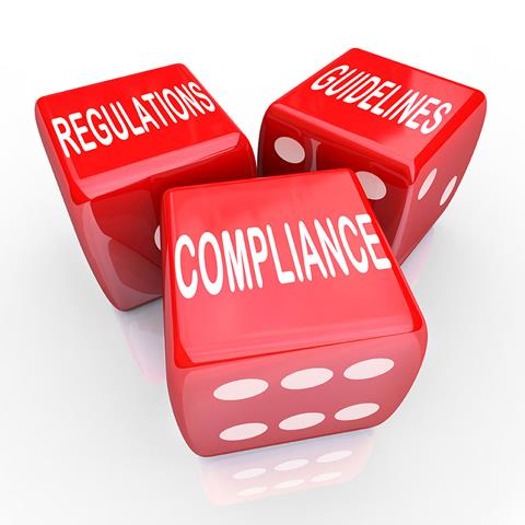 Regulations, Guidelines and Compliance dice image