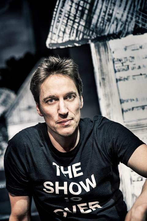 Kunstnerisk direktør S/H Christian Lollike (foto Emilia Therese)