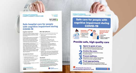 Safe care for people with cognitive impairment during COVID-19