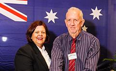 Mayor and award winner