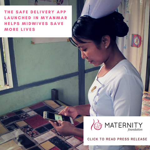 Maternity Foundation launches app in Myanmar
